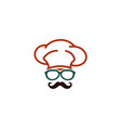 cool chef logo vector image