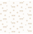cotton flowers seamless pattern vector image vector image