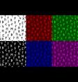 elder futhark runes seamless pattern vector image