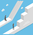 gender discrimination and inequality isometric vector image vector image