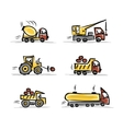Set of construction equipment for your design vector image
