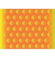 abstract hemisphere bulge orange background vector image