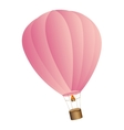 balloon air hot travel vector image