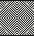 geometric seamless pattern with diagonal lines vector image vector image