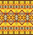navajo print aztec pattern geometric dezign vector image