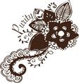 Purity Flower vector image vector image
