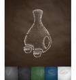sake icon vector image vector image
