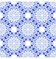 Seamless mandala pattern in moroccan arabic style vector image vector image
