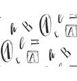 Hand drawn abstract vector image
