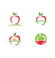apple design icon vector image vector image
