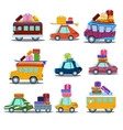 Cars to Travel vector image vector image