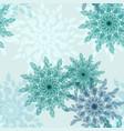 pattern vintage pale flower seamless vector image
