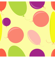 seamless background with air bubbles vector image vector image
