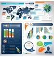 Set of Infographic Elements Information Graphics vector image