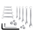 Spanner tools vector image vector image