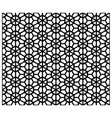 seamless japanese black background and pattern vector image