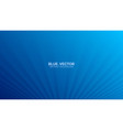 3d smooth blurred perspective lines deep blue vector image vector image