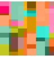 art shape colors design squares abstract vector image vector image