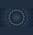 circle ornament background vector image