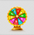 Colorful fortune wheel transparent background