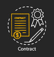 contract chalk icon legal agreement formal