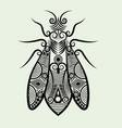 Decorative bee vector image