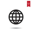 grid world icon vector image vector image