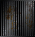 grille metallic with rusty vector image vector image