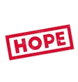 Hope rubber stamp vector image