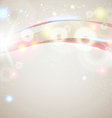 Bright and sparkling background for your vector image vector image