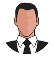Businessman icon3 resize vector image