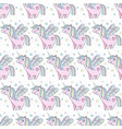 children s seamless pattern cute little pink vector image vector image
