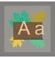 flat shading style icon education blackboard vector image vector image