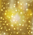 gloden background vector image vector image