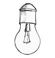 light bulb vector image vector image