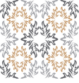 seamless background White wallpaper with retro vector image vector image