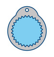 shopping tag label vector image