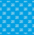 year calendar pattern seamless blue vector image vector image