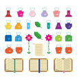 Alchemy Icons vector image