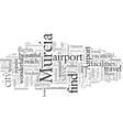enjoy convenience at murcia airport vector image vector image