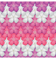 Flower seamless pattern vector image vector image