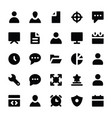 human resources glyphs icons 1