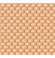 Beige Scale Seamless Pattern vector image