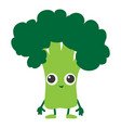 broccoli icon cartoon style vector image vector image