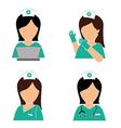 Medical design vector image vector image