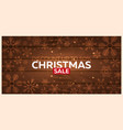 merry christmas and happy new year winter sale vector image vector image