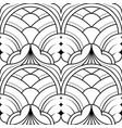 modern geometric tiles pattern vector image vector image