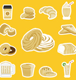 Bread Bakery vector image