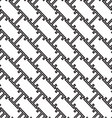 abstract monochrome seamless pattern vector image