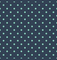 classic dotted seamless pattern polka dot vector image vector image